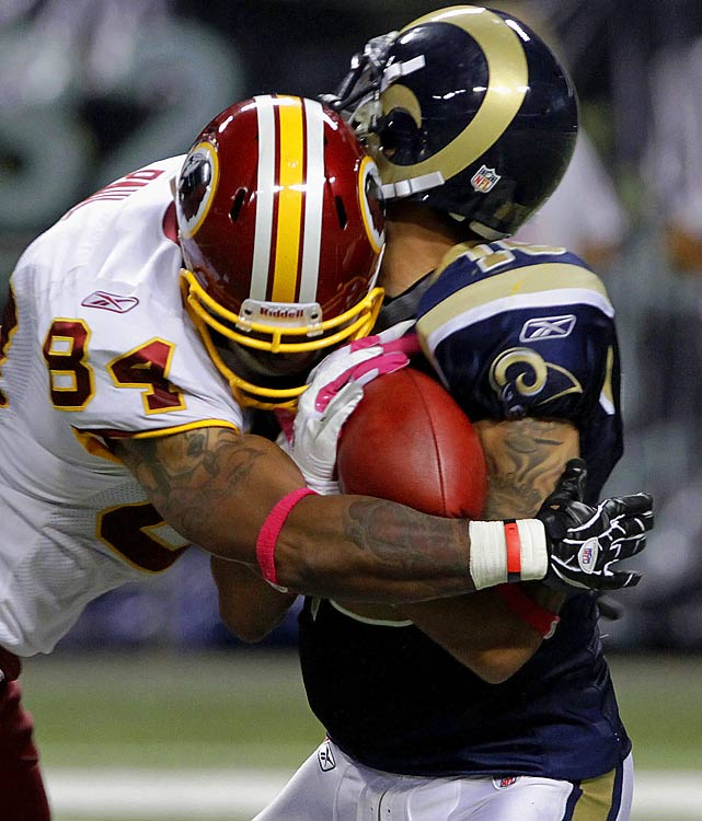 Paul was fined for a helmet-to-helmet hit of a defenseless player, St. Louis Rams' rookie punt returner Austin Pettis in Week 4.