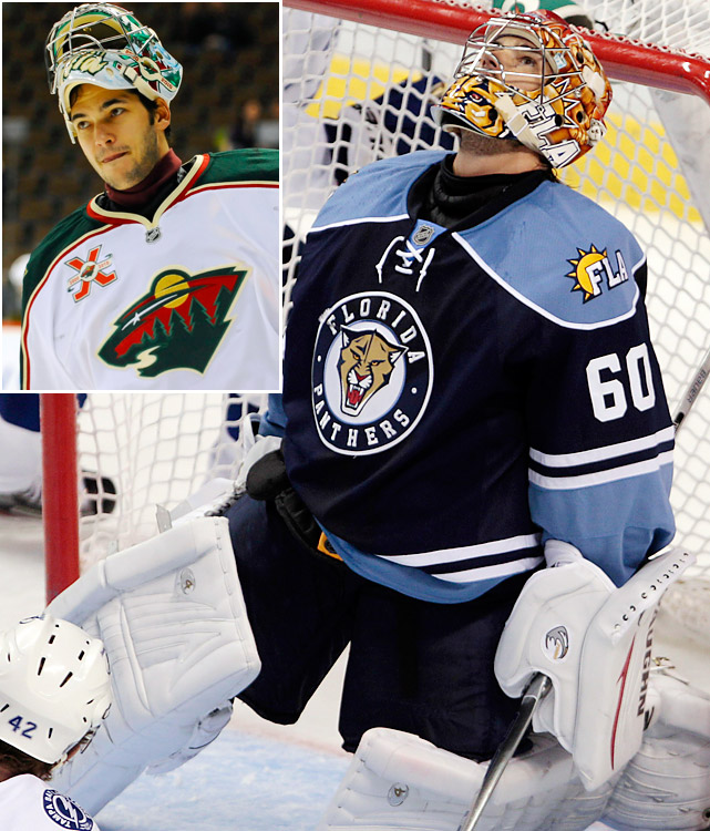 After losing netminder Tomas Vokoun to the Capitals via free agency, the Panthers gave Theodore a two-year, $3 million deal. Known mainly for failing to live up to the promise shown by his Vezina- and Hart Trophy-winning campaign with Montreal in 2001-02, the journeyman netminder (he's now with his fifth NHL team) played well in the backup role for Minnesota last season.