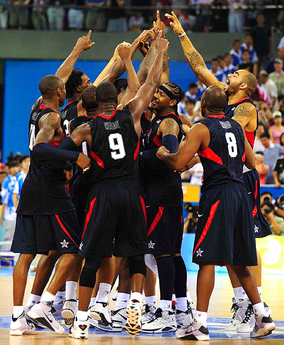 With an All-Star team, the U.S. defeated Spain to win the gold medal in Beijing in 2008. Most of those players will be available to play in 2012, looking to repeat their gold medal run.