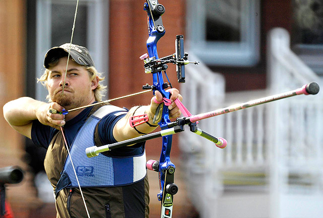Ellison qualified for the 2008 Olympics, but was unable to medal. Now he's the favorite to earn gold in London.The world's top-ranked archer won 35 of the 37 world ranking events in which he participated in 2011.