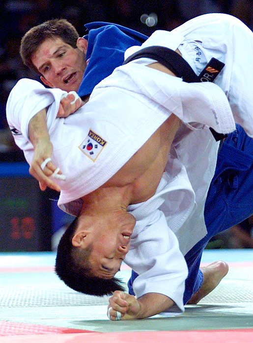 Pedro was a two-time Olympic bronze medalists, earning third place in 1996 and 2004. He was also the 1999 Men's Judo World Champion, but failed to medal at the 2000 Olympic Games (pictured).