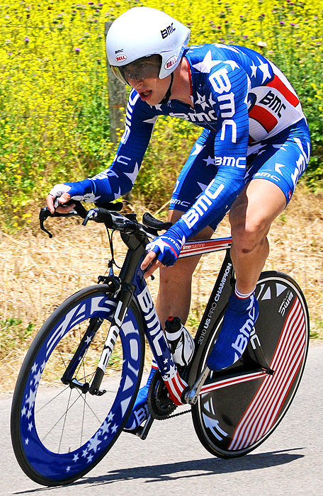 Taylor Phinney is looking to follow in the footsteps of both his parents at the 2012 Games. The young star placed eighth in the individual pursuit at the 2008 Olympics and won a 2009 individual pursuit world championship. He currently rides with the BMC Racing Team, managed by two-time U.S. Olympic cyclist Jim Ochowicz.