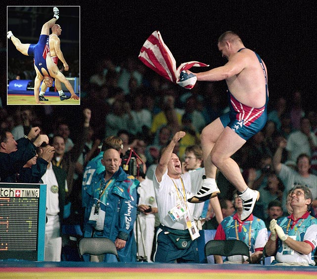 Rulon Gardner was the extreme underdog at the 2000 Olympics, when he faced Aleksandr Karelin, who had not lost a match in 13 years. Gardner famously upset Karelin to win the gold.