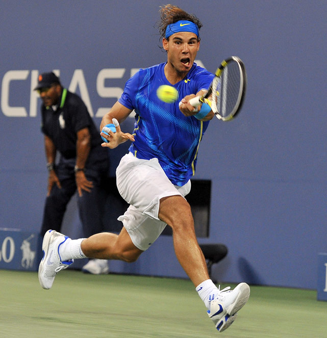 After the match, Nadal said of his 0-6 record against Djokovic this year: ''Six straight losses, for sure that's painful. But I'm going to work every day until that changes.''