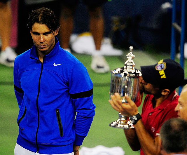 Nadal also lost a four-set final to Djokovic at Wimbledon this year.
