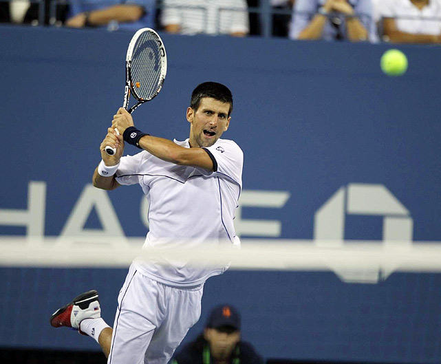 Djokovic broke the Spaniard's serve 11 times, the most in 163 Grand Slam tournaments for a Nadal opponent, according to the ATP Tour.