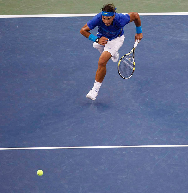Nadal finished with 32 winners and 37 unforced errors. Djokovic had 55 winners and 51 unforced errors.