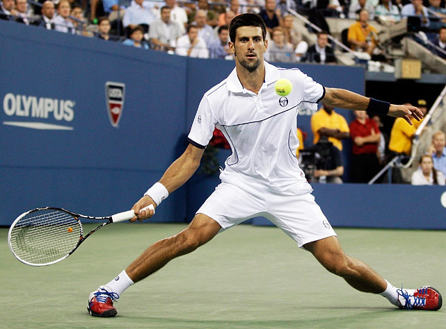 The world No. 1 prevailed in a 4-hour, 10-minute display of astonishing shotmaking and crowd-pleasing rallies. The two played one game that lasted more than 17 minutes, and the third set alone took 84 minutes.