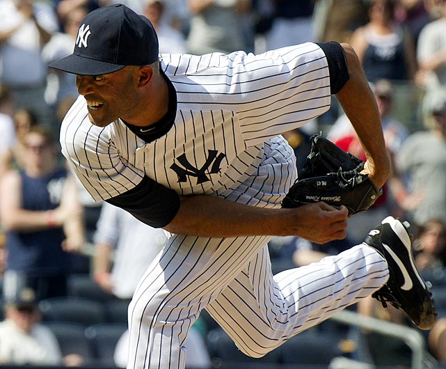 Signed by the Yankees as an amateur free agent, Rivera has played his entire career for the Yankees. Since 1997, the 12-time All-Star has saved fewer than 30 games only once. He saved a career-high 53 games in 2004.