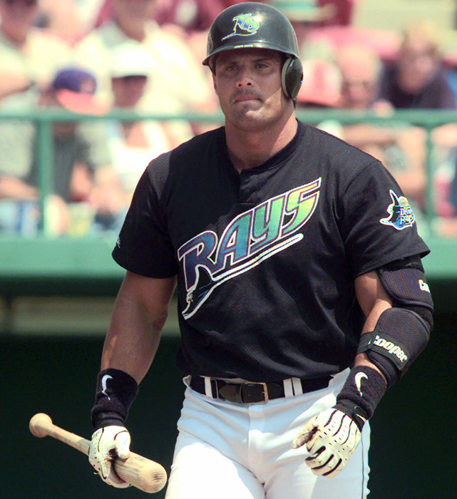 Jose Canseco isn't the worst memory of the Rays' early days. It was their uniforms.