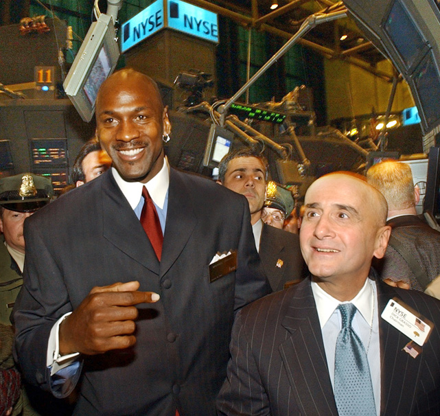 As the protests against Wall Street spread from Manhattan to other cities across the nation, SI takes a look at athletes and sports figures as they visit the New York Stock Exchange.