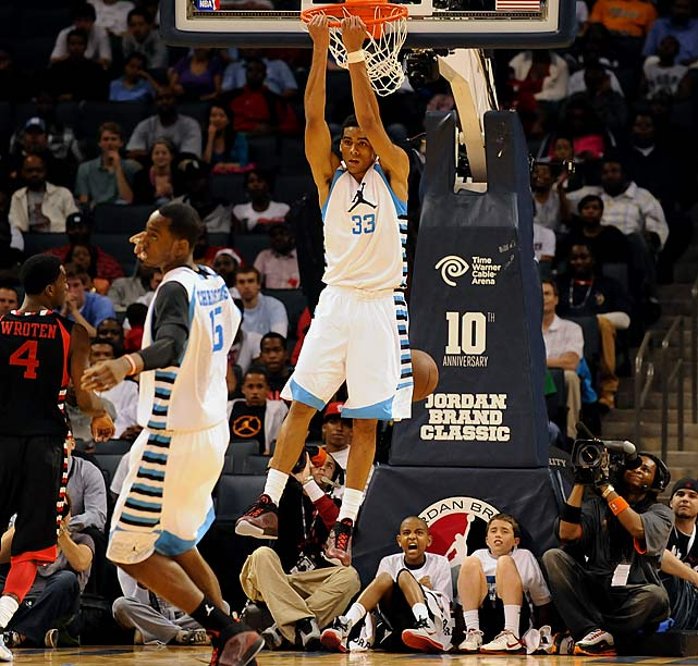 McAdoo isn't going to start for the Tar Heels, whose front line consists of returnees Harrison Barnes, John Henson and Tyler Zeller. But the polished power forward prospect -- whose offense game is far ahead of Henson's -- can fill the role Justin Knox did off the bench for UNC last year, getting double-digit minutes at the 4-5 spots and impacting the national title race.