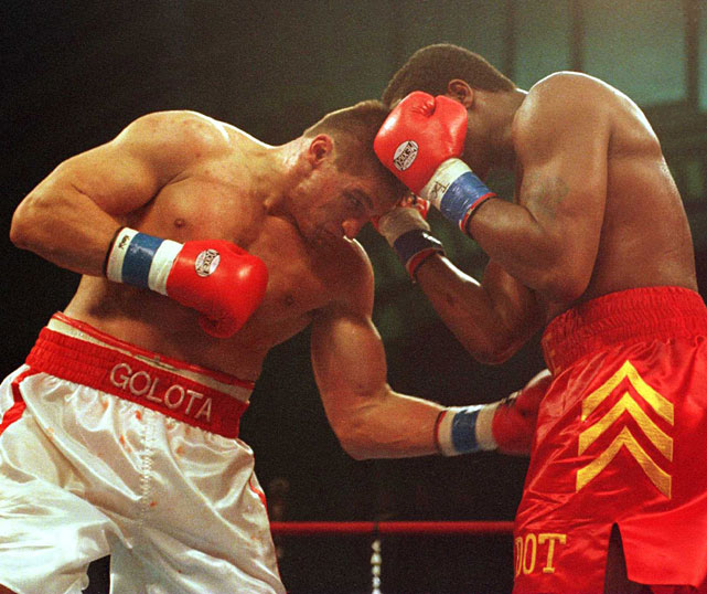 Golota was in control and ahead on the judges' scorecards when he was disqualified in the ninth round after being warned repeatedly for hitting Bowe with low blows. Yet the controversal finish in Atlantic City was nothing compared to ...