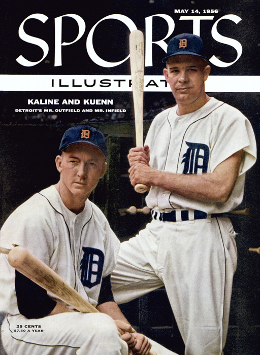 Al Kaline (left) and Harvey Kuenn appeared on the cover of Sports Illustrated in May 1956. Kaline never played in the minor leagues, made 15 All-Star teams and won 10 Gold Gloves. Kuenn was a 10-time All-Star, 1953 AL Rookie of the Year and 1959 AL batting champ. Despite their success, the Tigers didn't make the playoffs from 1946 through 1967.