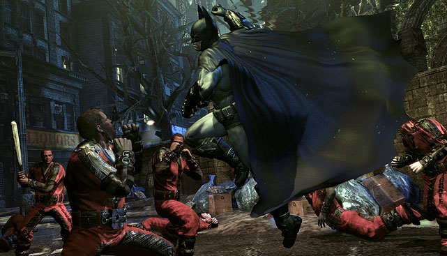 Two years ago Warner Bros. released one of the best superhero videogames in Batman: Arkham Asylum. Now the sequel is here to please Batman and action game fans alike. This time Batman is pitted against Hugo Strange, traversing the dangerous Arkham City while trying to unravel several sinister plots. Along the way you'll encounter an army of Batman's enemies and allies including Joker, Riddler, Calendar Man, Penguin, Catwoman, Two Face, Mr. Freeze, Robin and many others. The combat in the game is smooth and visceral, and exploring the environments on foot or gliding through the air really brings Batman to life. The graphics, voice acting and sound design are all top notch. Arkham City is a deep game when you fold in the campaign, side missions, and hundreds of Riddler Challenges hidden throughout the game.    Score: 9 out of 10