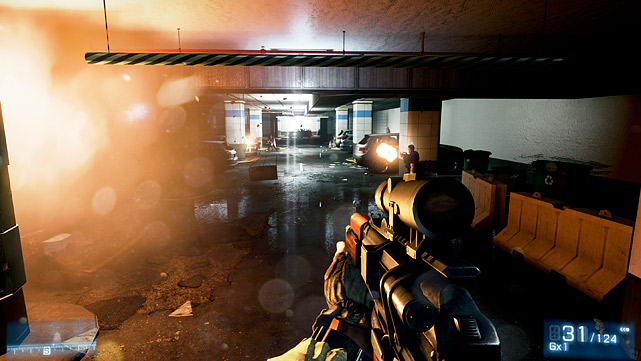 War is hell, and so is the competition for the top first-person military shooting game. EA's latest entrant in the fray is Battlefield 3. Unfortunately, the campaign mode is a mixed bag. It certainly does a great job of showing off the game's amazing graphics and sound, and is filled with several strong cinematic moments, but it's also fairly short and very linear. It also exposes some questionable AI that often leaves you as the only viable target even when you're surrounded by AI teammates. Multiplayer on the other hand is the reason to buy the game. The console version features 24-player matches with a good amount of maps, destructible environments and vehicles. Multiplayer features character classes, and keeps you coming back for more by rewarding you with weapon and kit upgrades based on your performance. Of course, that means you'll have to log some serious battle time before you unlock the better guns.  Score: 8 out of 10