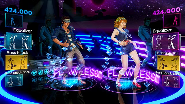 The sequel to last year's premier Kinect launch title, Dance Central 2 brings a new song list and new polish to the original's additive challenges. The major new features focus on multiplayer, including two-player dancing and dance battles where players take turns trying to out-dance each other. The major strength of Dance Central is the exemplary feedback you get as you perform -- errant body parts are outlined on your avatar in red, while you get a highly satisfying neon trail effect when your moves are all in sync. It's highly challenging -- and a good workout -- and much more technically demanding than the looser choreography of Just Dance 3. The song list is more club-heavy than the pop-focused Just Dance series, but there should be something here for anyone who likes to boogie. Downloaded content from the first game imports automatically, and tracks from the first game can be imported for a reasonable $5 fee. The only thing missing is a party shuffle feature, but otherwise Dance Central 2 is a pitch-perfect evolution of an awesome party game.  Score: 9 out of 10