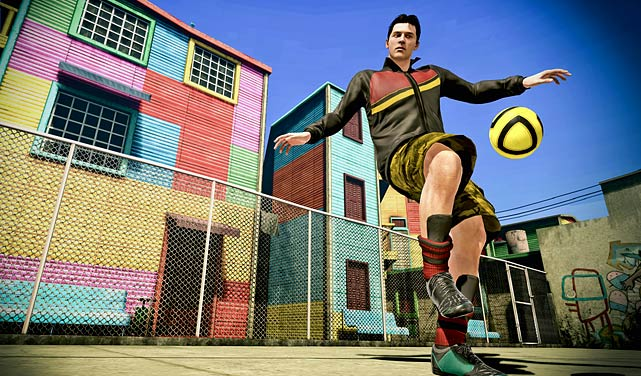 EA is resurrecting the Street series once again with FIFA Street. The game is focused on ball control and skill moves used to dribble past, over and through defenders. EA plans to incorporate professional soccer players and real-life street players into the game. EA says the game will feature 35 different venues and a host of game types with different rules and variable pitch sizes. Multiplayer is a big focal point of FIFA Street giving users the ability to team up online and play in tournaments against other human controlled teams. Fans hungry for a different spin on soccer will want to keep an eye on this title. FIFA Street is scheduled for a March 2012 release.