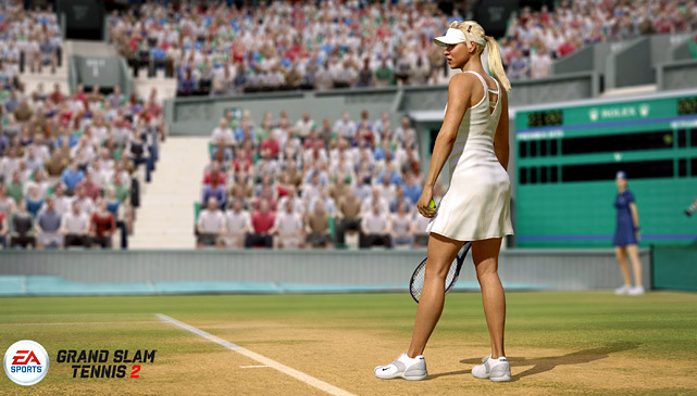EA is serving up a sequel of sorts to 2009's Grand Slam Tennis. That game was a Wii exclusive, but the follow-up is specifically targeting the Xbox 360 and PS3 with HD graphics and new features. The game features Total Racquet Control, which utilizes the right stick to swing the racquet, replacing the traditional button mechanic. It takes a little getting used to, but players will have the option to use buttons if it's not to their liking. Expect to see a lineup similar to the Wii game, which featured Roger Federer, Rafael Nadal, Novak Djokovic, Pete Sampras, John McEnroe, the Williams sisters, Maria Sharapova, Martina Navratilova and several others. Wimbeldon remains an exclusive license to the game, so tennis purists will certainly appreciate the ability to play for a real slam. Grand Slam Tennis 2 is expected to release in 2012.