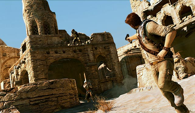 Nathan Drake returns for the third installment of Sony's premiere exclusive title. A well-written story drives you from one exotic location to the next as Nathan tries to track down a long-lost hidden treasure. As you play through Uncharted 3's third-person adventure, the game delivers the perfect blend of cut scenes, well-designed set pieces, platforming, puzzle solving, and run and gun action. The graphics, voice acting and sound design are all top notch as well. The campaign is decent sized, but it's sure to leave you wanting more. Thankfully, more is on the way in the form of Uncharted: Golden Abyss coming to the PlayStation Vita in February. In the meantime, Uncharted 3 also features a host of great multiplayer modes that will keep the game spinning in your PS3 for a long time to come.  Score: 10 out of 10