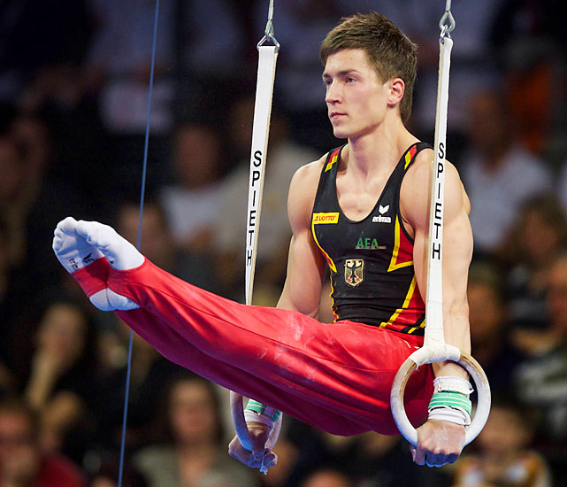 Boy, 24, took silver (way) behind Uchimura last year, further proof of Germany's recent surge in the men's ranks. Boy's veteran teammate, Fabian Hambuchen, is a two-time world all-around medalist. The Germans will be battling the Americans, Chinese and Japanese for team medals.