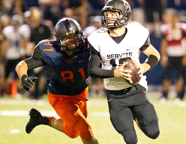 Previous rank:  7  Last game:  69-0 win at Pahrump Valley (Nev.)  Next game:  Oct. 14 at Spring Valley (Nev.)   All records through Oct. 9, 2011