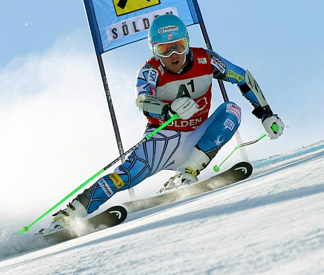 Ted Ligety (pictured) won his ninth World Cup giant slalom event at the Apline Skiing World Cup in Austria. Lindsey Vonn won her first career World Cup giant slalom at the same competition.