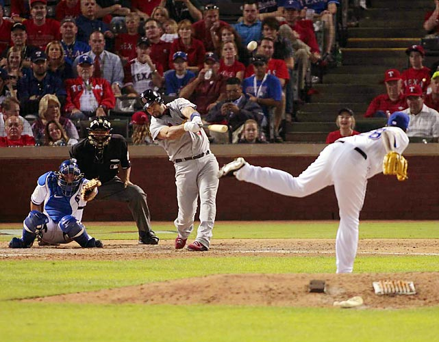 Albert Pujols turned in a signature performance during the Cardinals' 16-7 victory in Game 3 of the World Series on Saturday. The St. Louis slugger went 5-for-6 with three home runs and six RBI.