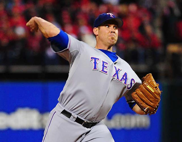 Rangers starter Colby Lewis set the pace for Texas, pitching into the seventh inning while allowing just four hits and one earned run.