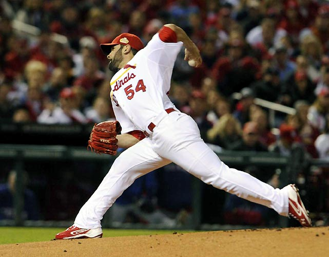 Cardinals pitcher Jamie Garcia was destined for the win before St. Louis' bullpen gave up two runs in the ninth.
