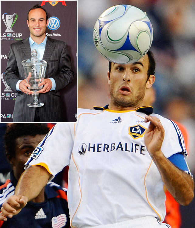 At last, the U.S. Men's National Team's all-time leading scorer won his first MLS MVP eight years after his league debut. Donovan had 12 goals and six assists in the regular season, despite missing a month to play in the Confederations Cup, and helped the Galaxy reach the MLS Cup, where they lost to Real Salt Lake on penalty kicks.   Other finalists: Jeff Cunningham, Shalrie Joseph