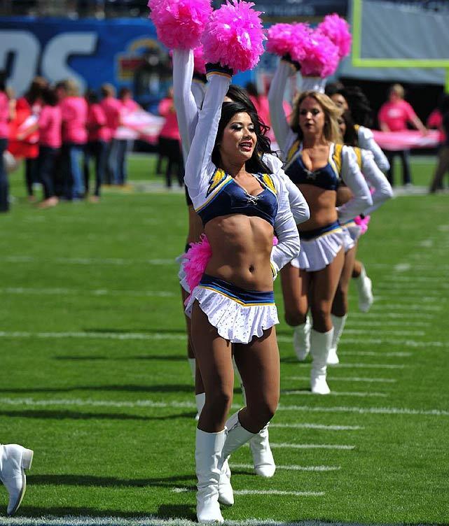 San Diego Chargers Cheerleaders Pictures: NFL Cheerleaders: Week 4