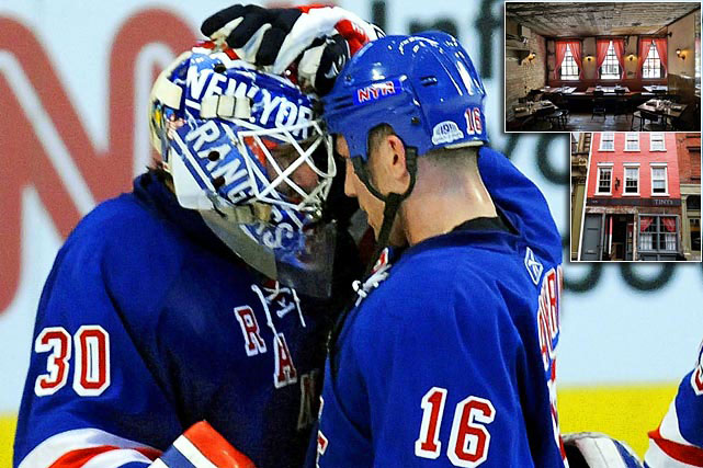 "On April 15, 2011, Avery and Rangers goaltender Henrik Lundqvist open ""Tiny's"" and ""The Bar Upstairs"", a Tribeca bistro in a two-story pink townhouse on West Broadway. ""You know what they say: behind every good fuchsia window treatment and antiqued dollhouse of a restaurant is a battle-hardened athlete,"" went the review on UrbanDaddy.com. ""So let's just pretend we didn't see this vintage flyspeck of a bar coming a mile away and address the essentials. Like the pickled beet and blue cheese Tiny's Burger that's topped with a fried egg."""