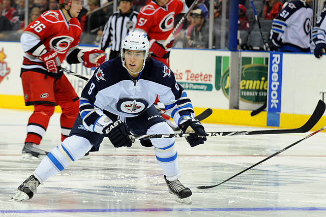 This 20-year-old Russian center is a key to the Jets' progress. He showed flashes last season as a teen out of junior that he belonged. If his progress continues as a hard working, two-way pivot, he will fill a big void in the middle where the Jets as the Thrashers really struggled during their truncated history in Atlanta. -- Adrian Dater
