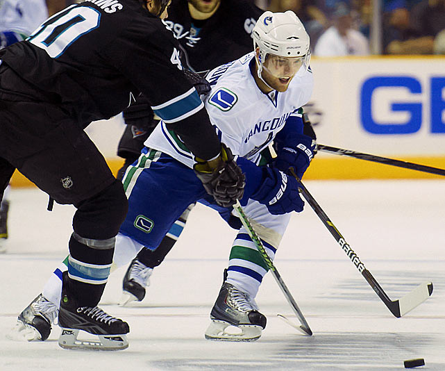 With Ryan Kesler expected to miss the start of the season and be out possibly into November after groin surgery, Hodgson will get a good chance to make a top-six impression in the forward corps. Picked 10th overall by the Canucks in 2008, he spent the summer working out with noted fitness guru/former NHL player Gary Roberts. --  Adrian Dater