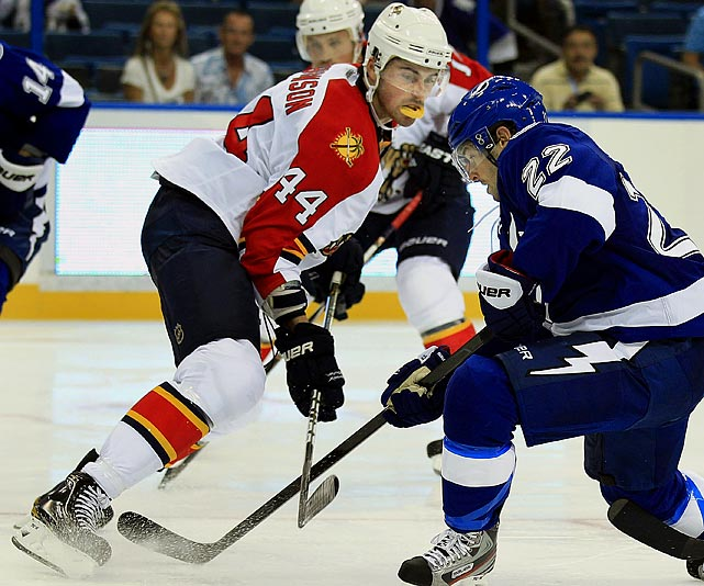 He's an all-around defenseman the Panthers can build around. His development will go a long way in shaping the team's new path under GM Dale Tallon. Veteran acquisition Brian Campbell's experience will aid Gudbranson's development and shape his season. That's certainly good for the 19-year old and it puts even more value on Campbell's potential impact on this team and franchise. -- Darren Eliot