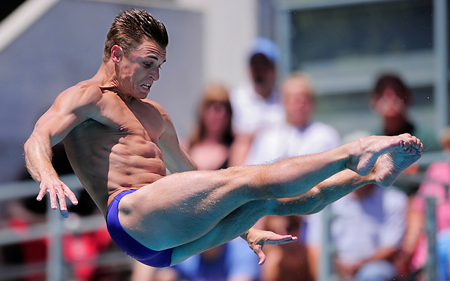 Five-time medalist at world diving championships. Three-time Olympian.