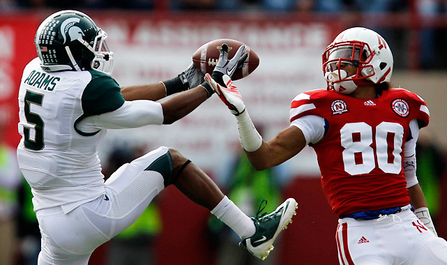 Call it a Hail Mary Hangover. A week after shocking Wisconsin on a last-second touchdown pass, Michigan State managed just 187 total yards against Nebraska. The Huskers didn't have to completely rely on their defense, getting 158 total yards and three total touchdowns (two rushing, one receiving) from Rex Burkhead.