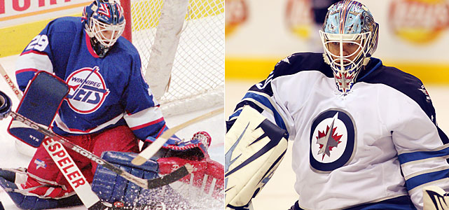 Cheveldae was traded to Winnipeg for the franchise's all-time wins leader, Bob Essensa, in 1994 and bridged the gap to Nikolai Khabibulin, eventually being traded to the Flyers in 1996.  Mason spent time with Nashville and St. Louis before joining the Thrashers for the 2010-11 season. Mason had been a starter in St. Louis but posted a 3.39 GAA and an .892 save percentage last season, giving way to Ondrej Pavelec.