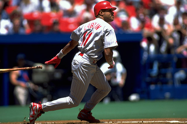The shortstop was a pivotal part of the Cincinnati Reds 1990 World Series team and won the 1995 NL MVP award. He was also 12-time All-Star, nine-time Silver Slugger and three-time Gold Glove winner.