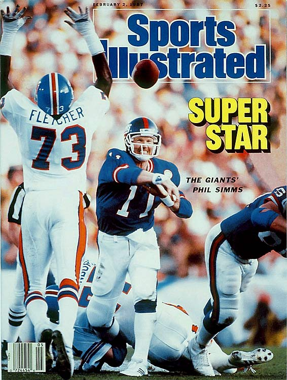 Simms quarterbacked the New York Giants to Super Bowl victories in 1987 and 1991. The two-time Pro Bowl QB was the MVP of Super Bowl XXI.
