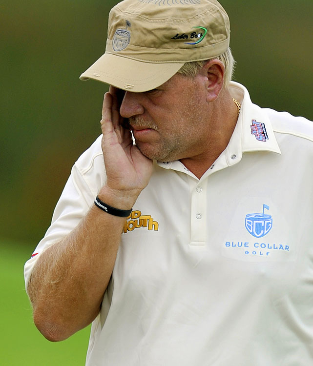 "There are bad holes, and there are atrocities. At this year's Australian Open, John Daly experienced one of the latter. He hit seven consecutive shots into the water on the 11th hole before storming off the course and drawing the ire of tournament officials. After his round -- or lack thereof -- Daly tweeted, ""when u run out of balls u run out of balls.""'"