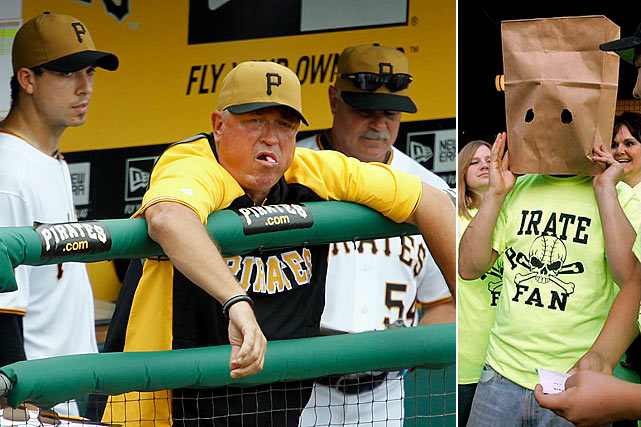 So close, so yet so far. That's the story of the 2011 Pirates. After racing to an NL Central-leading 48-43 record on July 16 -- and achieving status as baseball's darlings -- the Bucs floundered down the stretch, going 24-47 to finish in fourth place. The Pirates have now endured 19 consecutive losing seasons, the longest such streak in professional sports.