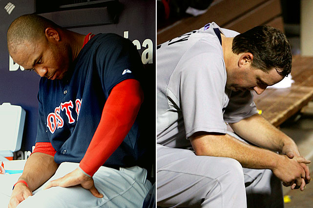 In honor of Thanksgiving, as fans give thanks to the athletes and teams that made for a memorable year in sports, SI.com turns its attention the other way: to the 2011 Turkeys of the Year. Our parade of fowl bumblers starts with the Boston Red Sox, who staged one of the greatest collapses in baseball history by blowing a nine-game lead in the season's final month. Among the culprits:  Carl Crawford, who batted .255 following his $142 million free-agent signing, and starting pitchers Josh Beckett, John Lackey and Jon Lester, who were accused of eating fried chicken and drinking beer in the clubhouse during games.