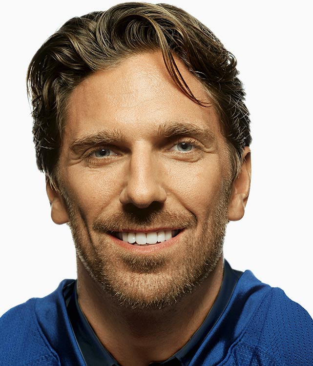 Not all hockey players are missing teeth.