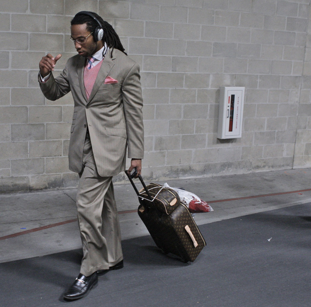 Sports Illustrated  asked 250 NFL players which player has the best fashion sense off the field. Here are the results.