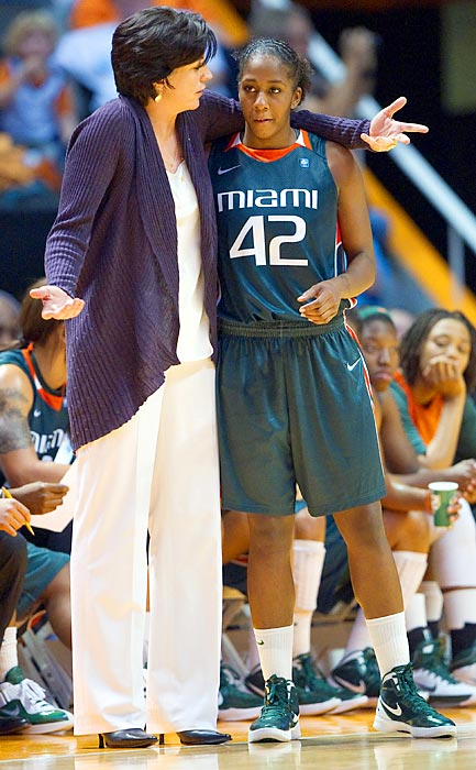 "Last season's historic campaign for Miami peaked with the program's first ACC regular-season championship, but coach Katie Meier's squad was denied an appearance in its first conference title game with an 83-57 blowout to UNC in the March 5 ACC tournament semifinals. ""They dismantled us,"" Meier said afterward. Returning its entire roster from a year ago, the Hurricanes' shot at consecutive ACC titles will mean keeping the Tar Heels at bay."