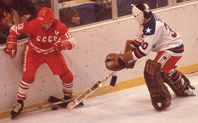 Mikhailov was the captain of the Soviet Union hockey team from 1972-80, guiding them to gold medals at the 1972 and 1976 Olympics and a surprise silver in 1980, losing to the Miracle On Ice U.S. team.