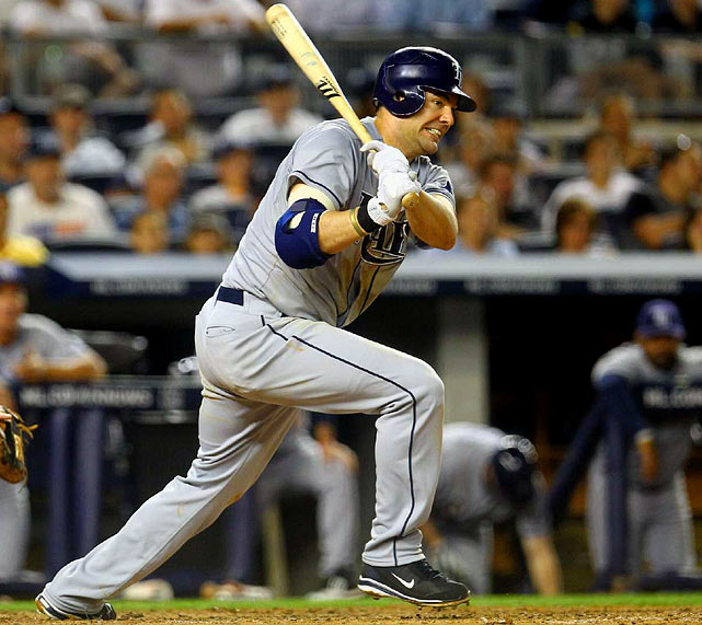 CURRENT TEAM:  RAYS  BEST FIT:  RAYS   The Rays plucked Kotchman from the scrap heap last January, giving him a one-year, $750,000 deal. By season's end, he had proven yet another brilliant signing by GM Andrew Friedman, as he was eighth in the AL in batting average while playing his typically excellent defense at first. Kotchman will never develop the power most desire from a first basemen, but that should keep his cost low, and therefore make him affordable to the Rays.