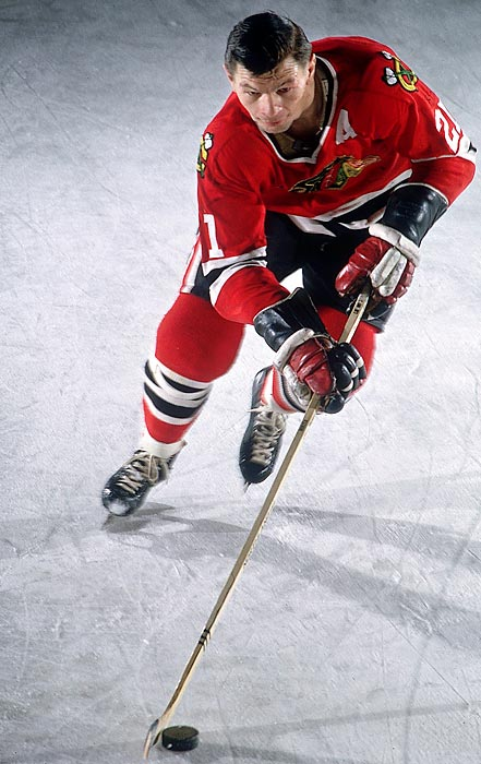 The Hall of Famer won two Hart trophies and the 1961 Stanley Cup. Only Alex Delvecchio and Steve Yzerman had a longer career playing for only a single NHL team.